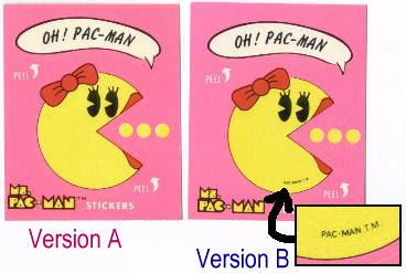 Ms. Pac-Man Version Differences Example