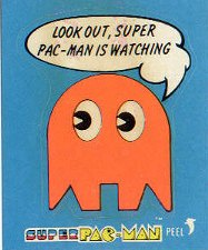 Look out, Super Pac-Man is watching