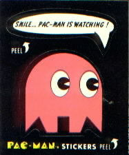 Smile, Pac-Man Is Watching