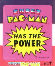 Super Pac-Man has the power